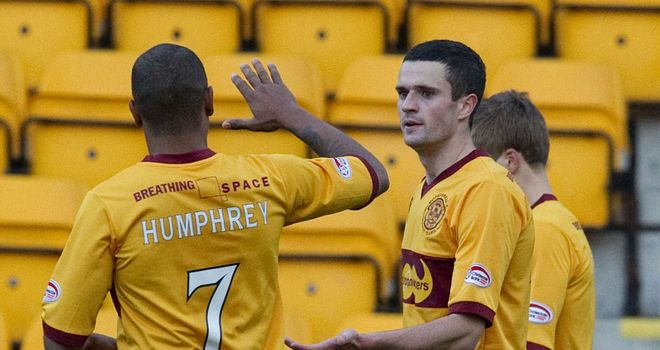 Jamie Murphy: Scored twice before half-time