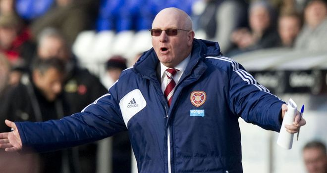 John McGlynn: Hearts have parted company with manager by mutual consent