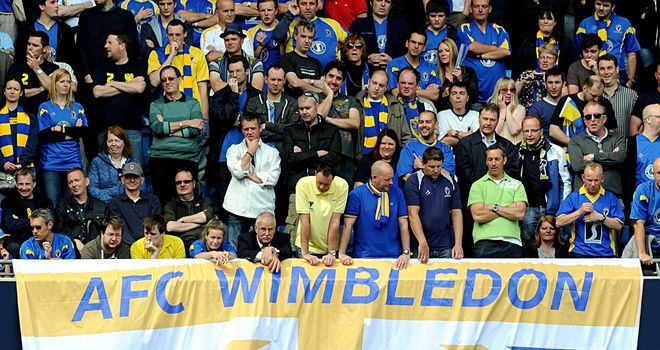 AFC Wimbledon fans: Urged to attend cup clash