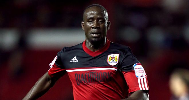 Albert Adomah: Hoping to start for Bristol City