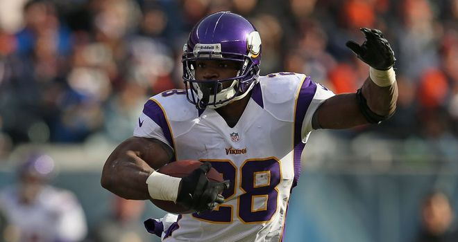 Adrian Peterson: Fell just short of breaking single-season rushing record