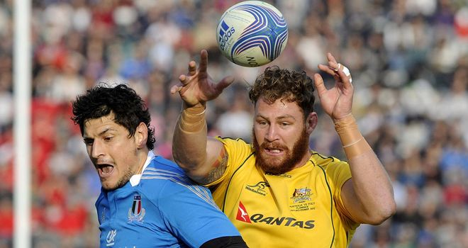 Scott Higginbotham: Returned from a two-game ban in Australia's 22-19 win over Italy last weekend