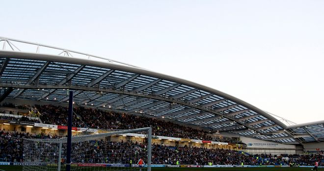 Amex Stadium: Brighton keen on bringing in another forward