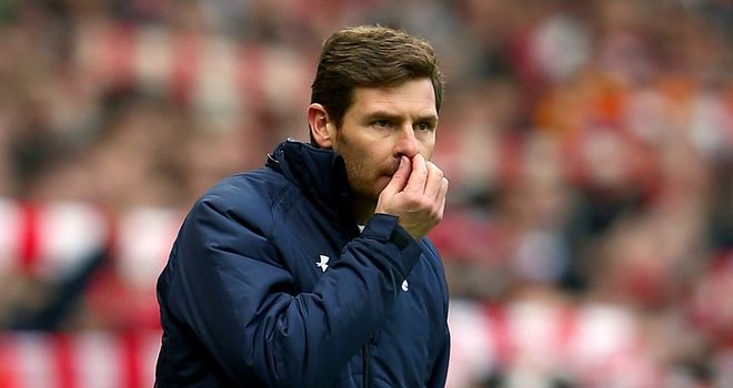 Andre Villas-Boas: Looking for Tottenham to remain within striking distance of the top four