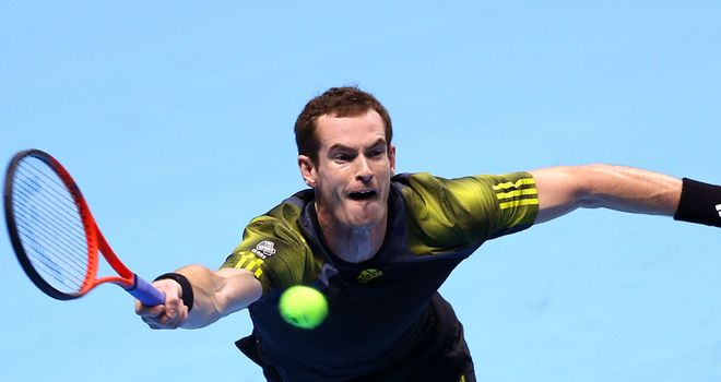 Andy Murray: Came from a set down to beat Tomas Berdych at the O2 Arena