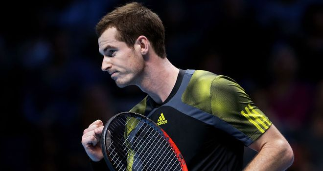 Murray: yet to reach the semi-finals of the Tour Finals in four attempts