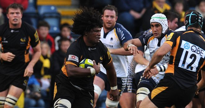 Johnson: in impressive form for Wasps