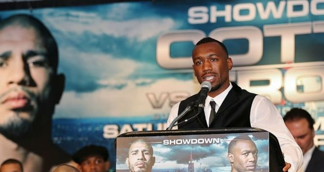 Austin Trout: Enjoying his time in the limelight (Pic Damien Acevedo)