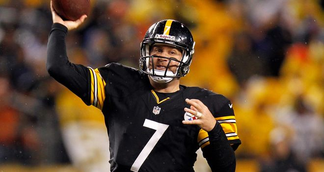 Ben Roethlisberger: Will miss AFC North divisional battle with the Baltimore Ravens