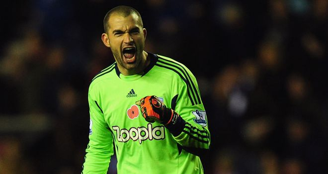 Boaz Myhill: Caution from Albion goalkeeper