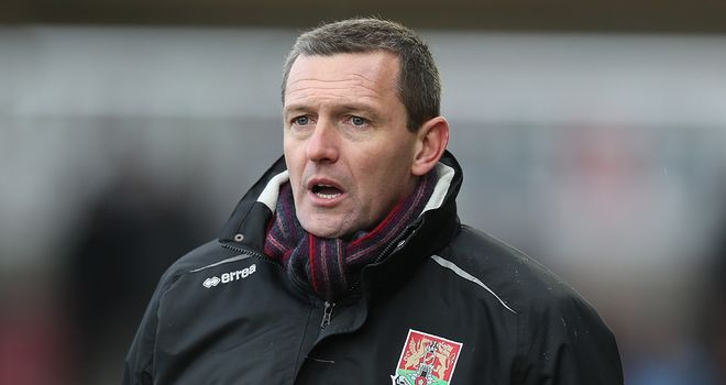 Aidy Boothroyd: Has turned things around at Northampton