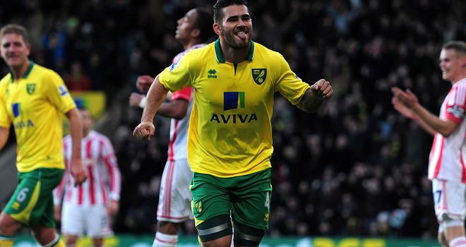 Bradley Johnson: Midfielder's first goal in over a year