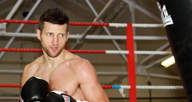 Froch: Will have been working on combating Kessler's jab, says Richie Woodhall