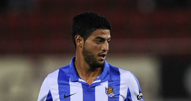 Carlos Vela: Scored for Real Sociedad at Malaga inside the first minute