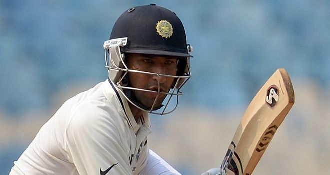 Pujara: hit 21 fours off 389 deliveries in his unbeaten 206