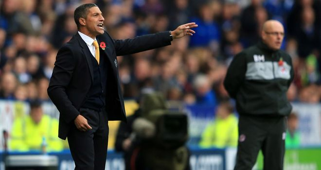Chris Hughton: Was happy with an away point from Reading