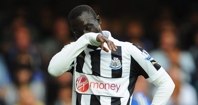 Papiss Cisse: Has netted only three goals so far this season