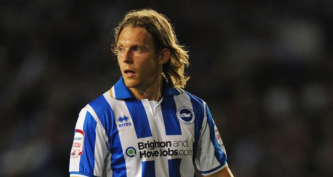 Craig Mackail-Smith: Will return for Brighton at Birmingham