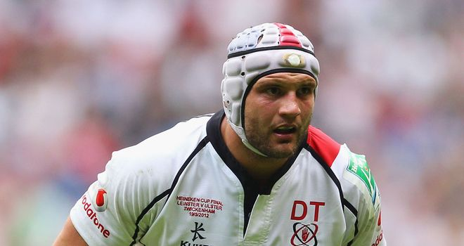 Dan Tuohy: Has signed a three-year contract extension with Ulster