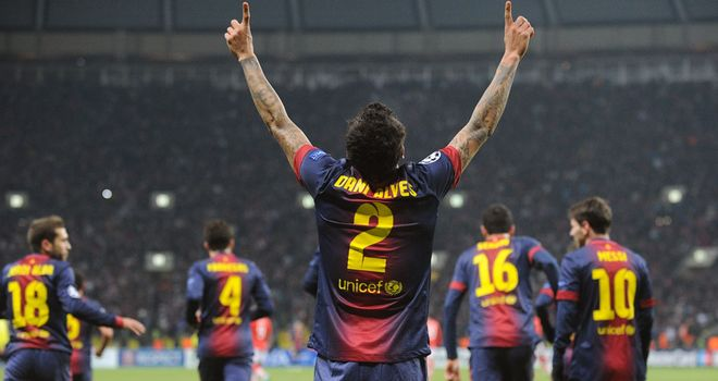 Dani Alves: Football of secondary importance