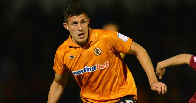 Danny Batth: Backed to succeed by Edwards after his full debut