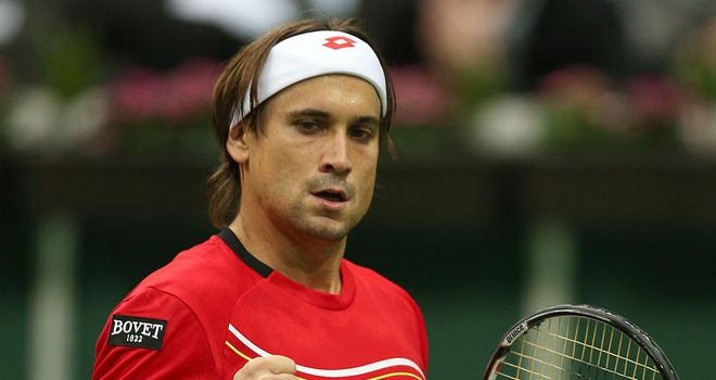 David Ferrer: Secured a straight-sets win over Radek Stepanek in the opening match