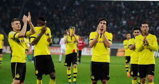 Dortmund were ruthless in victory