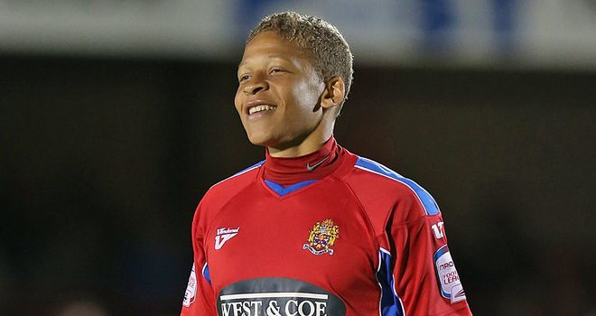 Gayle: On loan from Dagenham