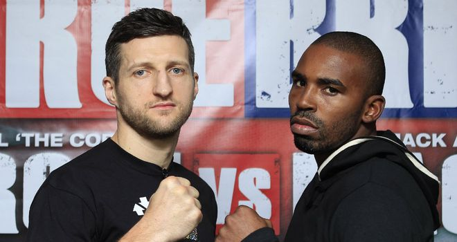 Carl Froch: Sent out chilling warning to challenger Yusaf Mack (pic Lawrence Lustig)