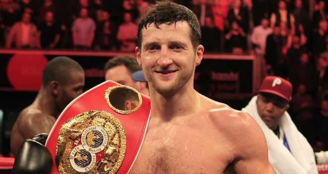 Carl Froch: Challengers are queueing up for his IBF strap