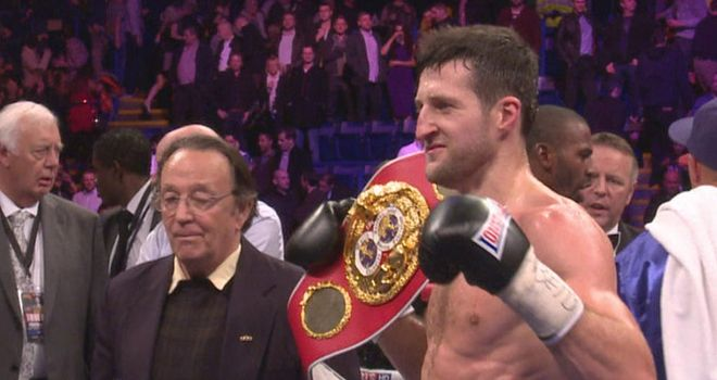 Carl Froch: Kessler fight still in the pipeline