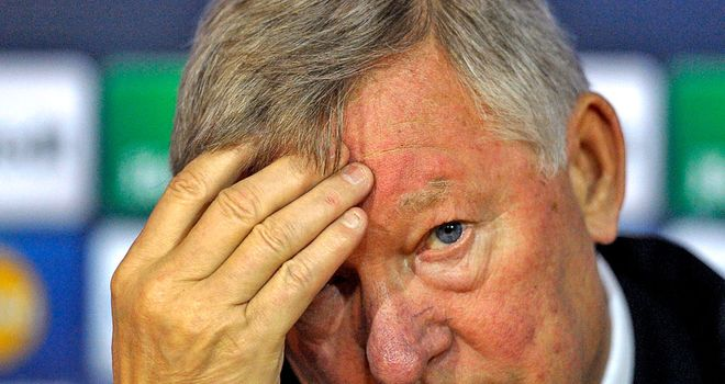 Sir Alex Ferguson: Handed worst possible Champions League draw