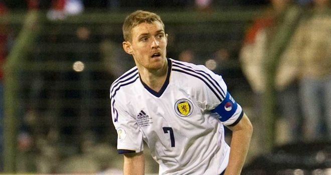 Darren Fletcher: Scotland midfielder unhappy with Luxembourg tactics