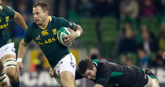 Francois Hougaard: Injury rules scrum-half out of Nelspruit clash