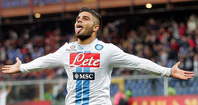 Insigne celebrates his late clincher