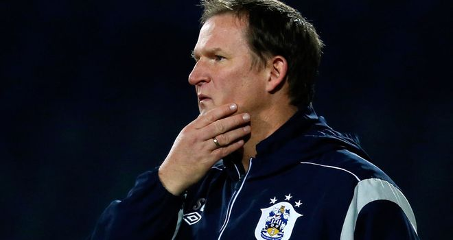 Simon Grayson: Admitted his side were fortunate to lead at Blackpool