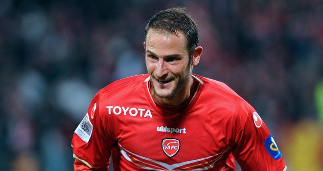 Daniel Pujol: Scored twice for Valenciennes