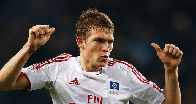 Artjoms Rudnevs scored Hamburg's second goal