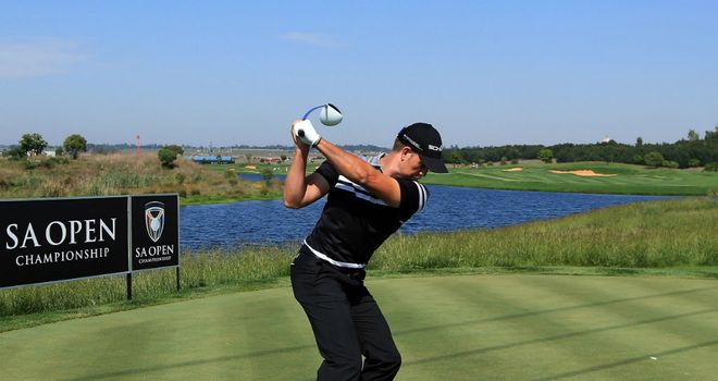 Henrik Stenson: glad to get his driver out