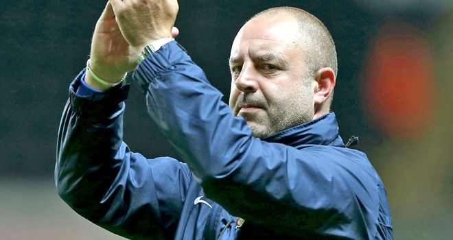 Keith Hill: Aiming to make the play-offs
