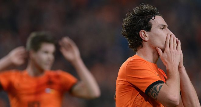Darryl Janmaat: Came close to breaking the deadlock for Holland