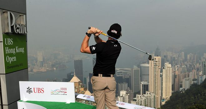 Rory McIlroy is the hot favourite to win in Hong Kong