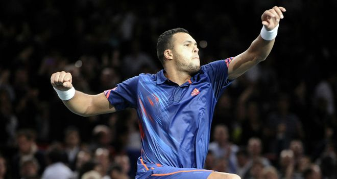 Jo-Wilfried Tsonga: Qualified for the ATP World Tour Finals with win over Nicolas Almagro