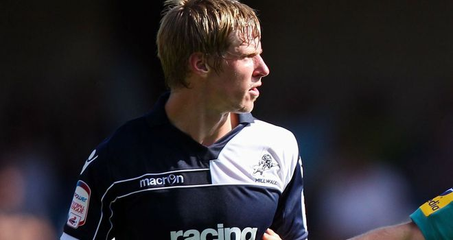 Andy Keogh: His goal helped Millwall to victory