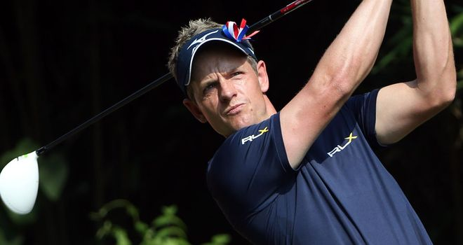 Luke Donald: Hopes Michael Jordan can improve his mental approach