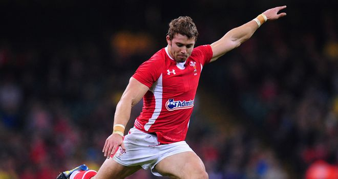 Leigh Halfpenny: kicked all of Wales' points in the loss to Australia at the Millennium Stadium.