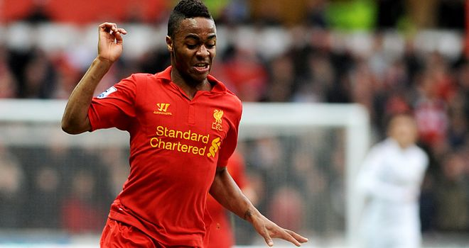 Raheem Sterling: Says Liverpool can finish in the top four next season