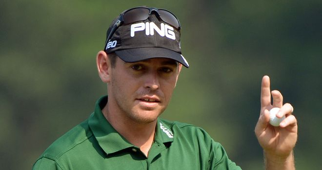 Oosthuizen: the former Open champion finished runner-up at this year's US masters