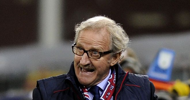 Luigi Del Neri: Sacked following Sunday's 2-0 home defeat to Catania