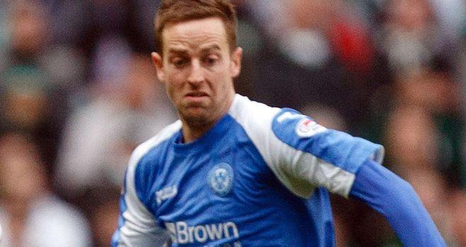 Steve MacLean: Equalised for St Johnstone